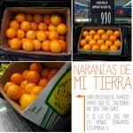 Hoy de postre … naranjas de Valencia.