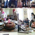 Celebrando el cumple