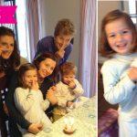Rocío cumple 5 años