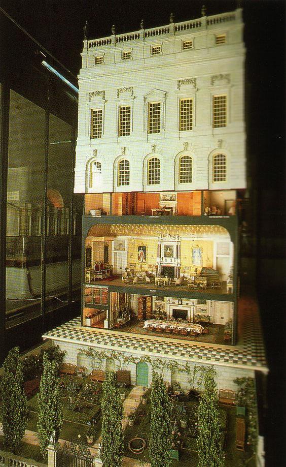 Casa de muñecas Castillo Windsor