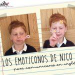 Los emoticonos de Nico para poder comunicarse en inglés