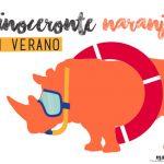 """Rinoceronte naranja"" en verano"